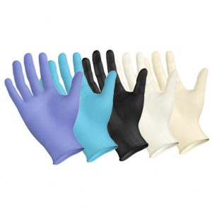 Latex and Nitrile Gloves